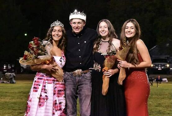 Vanessa crowned as Homecoming King
