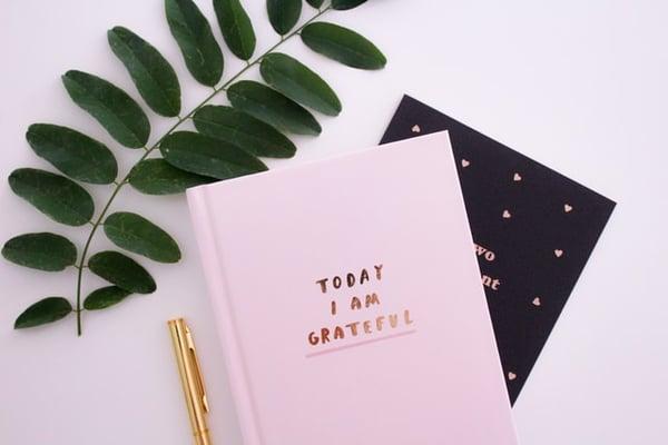 Gratitude journal for helping teens cultivate gratitude