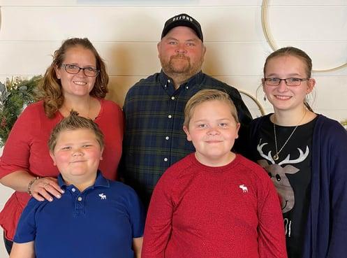 Jana and the Jarrett familiy