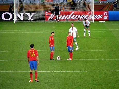 Spanish World Cup Spain vs Portugal