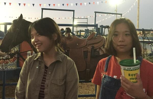 asian students at Texas State Fair