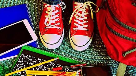 notebooks, pencils and tennis shoes as we talk about the Spanish education system and the US education system