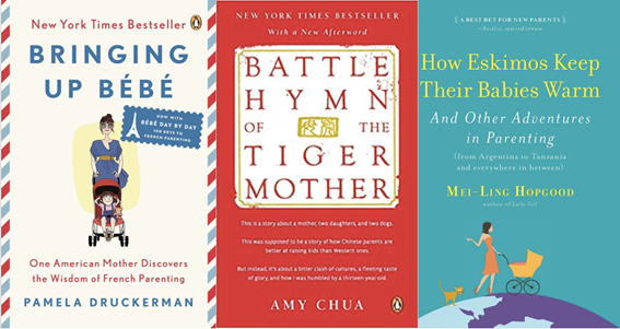 3 parenting book covers